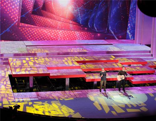 大型升降舞台