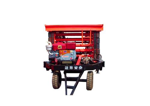 柴油机牵引式升降机